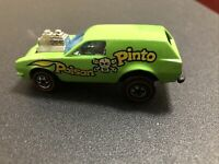 1975 POISON PINTO - Light Green - Hot Wheels REDLINE Vintage Original