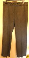 Principles UK14R EU42R US10R grey-mix herringbone trousers - new