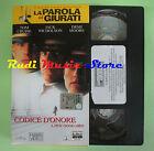 film VHS cartonata CODICE D'ONORE Tom Cruise La parola ai giurati (F83) no dvd