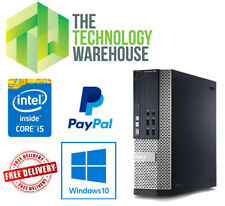 Dell 790 SFF PC - Intel i5 Quad Core CPU Up To 16GB Ram Fast SSD Windows 10 Pro