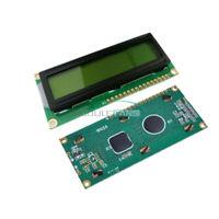 2PCS 16x2 1602 HD44780 Character LCD Display Module Controller Yellow Backlight
