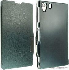 Para Sony Xperia Z1 L 39 de h Cuero Funda Flip Cartera De Piel Estilo Bolsa