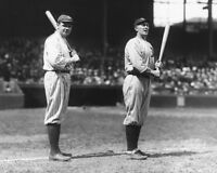 1920 Yankees BABE RUTH & Tigers TY COBB Glossy 8x10 Photo Baseball Print Poster