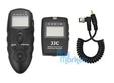 JJC WT-868 Wireless Timer Remote w/ CABLE re. Nikon MC-30 for D810 D4s D500 etc.