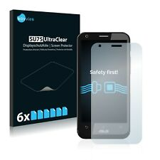 6x Savvies Screen Protector for Asus A68 Padfone 2 (Phone) Ultra Clear