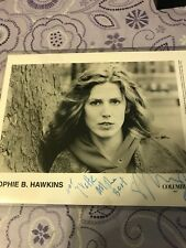 SOPHIE B. HAWKINS Signed Photo