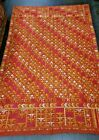 ANTIQUE LARGE RUSSIAN KILIM SILK TAPESTRY