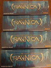 ***4x Return to Ravnica Booster Box*** Magic the Gathering Cards Sealed RTR Case