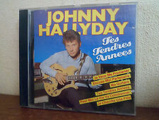 CD - JOHNNY HALLYDAY - Les Tendres Années - Excellent état - 2 PHOTOS