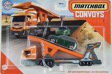 2020 Matchbox Mbx Cabover Semi &Auto Transport 2011 Mini Countryman Convoys
