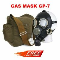 Military Surplus GP-7 Gas Mask with Bag and 40mm Filter