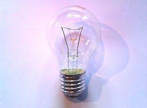 Light Bulbs or Candle E 27 25, 40, 60, 75, 100 Watt Clear Lamp Basement
