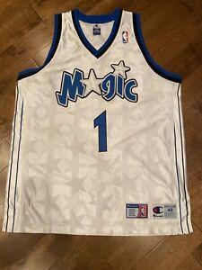 Authentic Champion Tracy McGrady Orlando Magic NBA Jersey Size 48