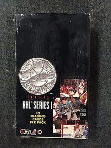 1991 92 Pro Set Platinum NHL Series 1 Trading Cards Sealed Box
