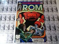 Rom (1979) Marvel - #14, Mad Thinker, Awesome Android, Mantlo/Buscema, VF