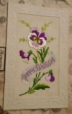 France Embroidered Silk Collectable Military Postcards