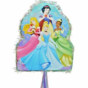 Pull String Disney Princess Pinata Holds up to 2 Pounds of Filler Jasmine Ariel