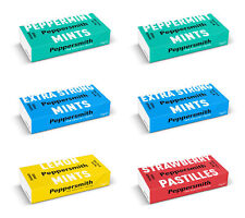 Peppersmith 100% Xylitol Mints – 12 Packungen x 15g - Zucker Frei