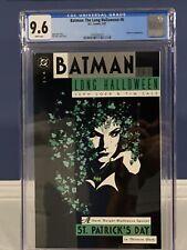 Batman The Long Halloween #6 (D.C. 1997) - CGC 9.6 w/ White Pages