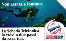 *G 608 C&C 2674 SCHEDA TELEFONICA USATA NON CERCARLA LONTANO SUB