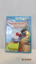 Hello Kitty Kruisers With Sanrio Friends Nintendo Wii U PAL Version European NEW