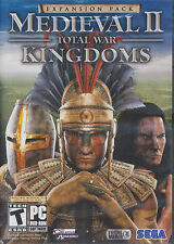 Medieval II 2 Total War KINGDOMS EXPANSION PC Game NEW IB