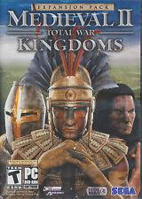 Medieval II 2 Total War KINGDOMS EXPANSION PC Game NEW IB