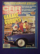 CAR CRAFT - GARAGE GOODIES - Feb 1986 vol 34 #2
