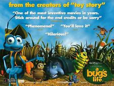 Walt Disney's A Bug's Life movie poster - 12 x 16 inches
