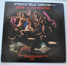 EDDIE The Sheik KOCHAK: Strictly Belly Dancing Ya Habibi #2 LP Record Sexy Cover