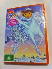 Dora the Explorer: Dora Saves the Snow Princess Region4 DVD - BRAND NEW