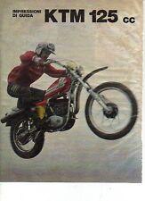 W24 Ritaglio Clipping 1976 KTM 125