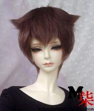 1 6 6-7 Bjd Wig Msd Yosd Baby Sd Dz Dod Luts Dollfie Doll Costom Head Hair