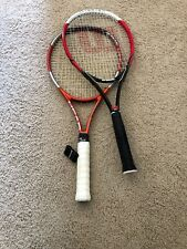 (Two) Tennis Racquets, HEAD Liquidmetal Radical And Wilson Federer Titanium
