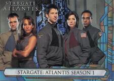 2005 Stargate Atlantis Season 1 promo card P1