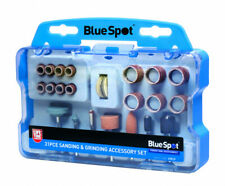 BlueSpot 31 Piece Rotary Tool Sanding & Grinding Accessory Set 19019 Model Craft
