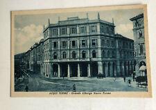 Cartolina Pubblicitaria Acqui Terme Grande Albergo Nuove Terme c3