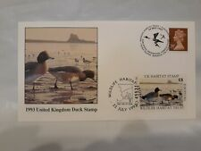 New listing 1993 United Kingdom Duck Stamp First Day of Issue Posted Letter & Duck Stamp