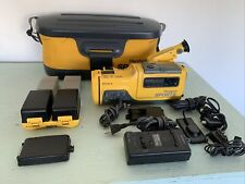 Sony Handycam Sports Video 8 Camcorder - Ccd-Sp7-w/Bag/Accessories -Partial Inop