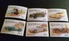 Maldives Stamps Sc 990-995. Automobiles