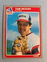 1985 Fleer Team Set of the Chicago White Sox -  Tom Seaver & Carlton Fisk