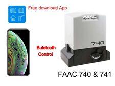 iPhone control FAAC 740 & 741 sliding gate bluetooth receiver