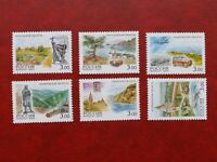 Set of postage stamps 2003 Russia,Regions of the Russian Federation 6 pcs