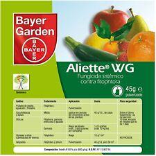 PROTECT GARDEN Fungicida sistémico Aliette WG para cesped y coniferas, 40 gr