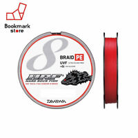 NEW Daiwa HRF Sensor 8 Braid+Si 200m 24lb/11kg #1.5 Battle Red Rockfish Line JPN
