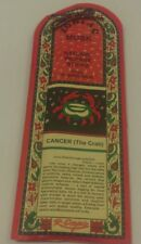 """Zodiac Natural Incense 30 Sticks From R-Expo India """"Cancer"""" Jun 22nd-Jul 23rd"""