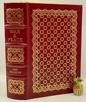 Easton Press WAR AND PEACE Tolstoy Collectors LIMITED VINTAGE Edition LEATHER