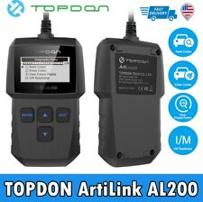 2020NEW! TOPDON Car Engine Fault Code Reader OBD2 EOBD CAN Reset Tool Scanner US