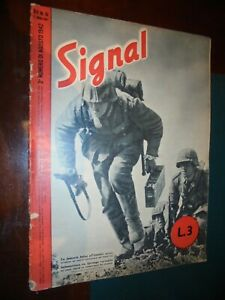 Rivista SIGNAL  n.16 - 2° agosto 1942 Guerra WWII Soldati Aerei Bombardamenti