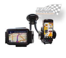 Coche Parabrisas Soporte Para Teléfono Móvil iPOD GPS Soporte universal de montaje del panel de control